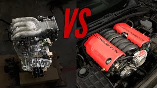 13B VS LS6. The Ultimate Rotary to Piston Comparison
