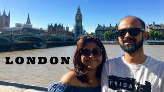 London VLog 2017 | Lap : 1 of UK Road Trip | India | Traveling with toddler