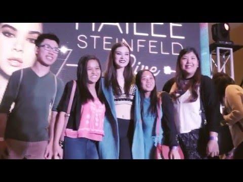 #SmartHaileeSteinfeld LIVE in Manila!