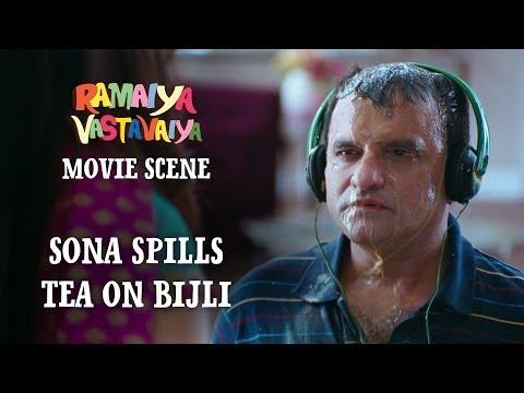 Sona Spills Tea on Bijli - Ramaiya Vastavaiya Scene - Shruti Haasan