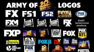 Army of Fox logos (20th Century Fox Fanfare Entrance)