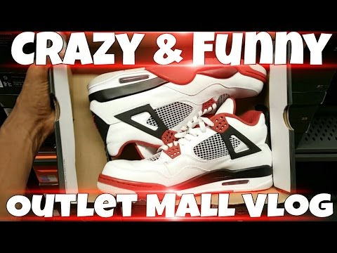 Nike Outlet Mall VLog At Houston Premium Outlet Mall