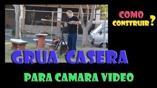 GRUA O PLUMA CASERA PARA CAMARA - 4