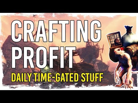 Guild Wars 2 - Sweet Gold from Daily Time-Gated Crafting thumbnail