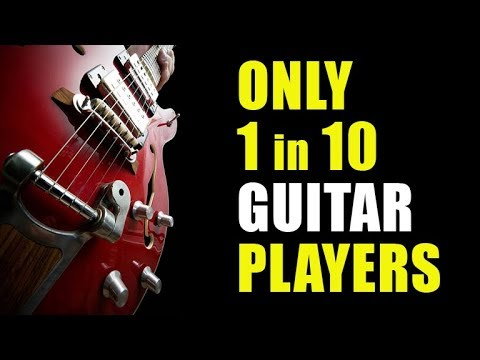 Only 1 in 10 Guitar Players Can Do This