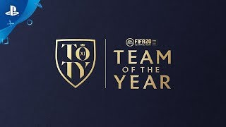 FIFA 20 Ultimate Team | Team of the Year vote | PS4