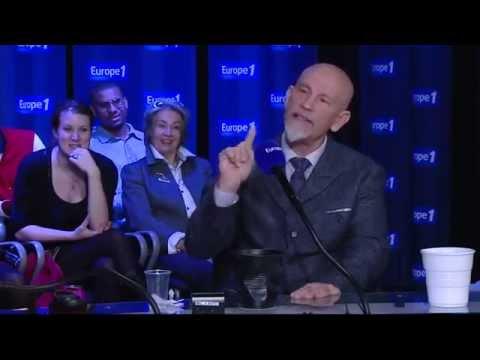 ANECDOTE DE DINGUE !! John Malkovich sur Gérard Depardieu et Johnny Hallyday !