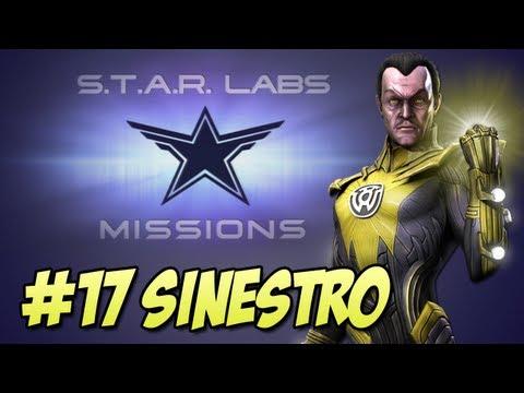 Star Labs #17 - Sinestro Injustice Gods Among Us