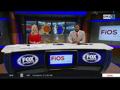 Dirk Nowitzki surprised when Tyson Chandler drops into interview