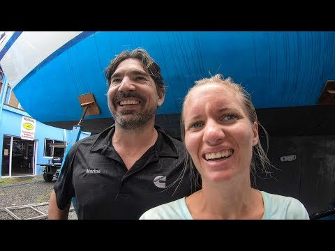 Our Experimental eco-friendly antifouling project begins- Sailing Vessel Delos Ep. 205