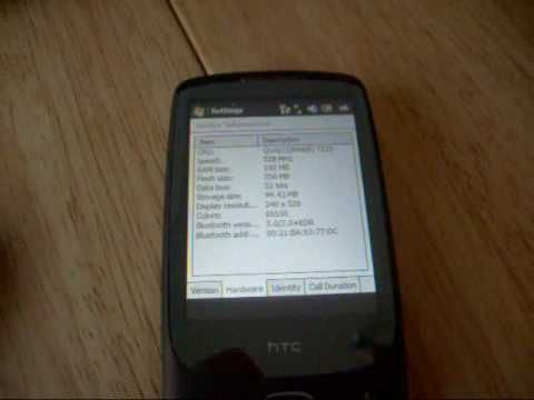 An introduction to the HTC Touch 3G