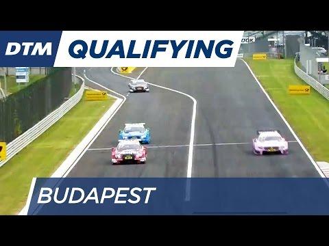 DTM Budapest 2016 - Qualifying (Race 2) - Re-Live (English)