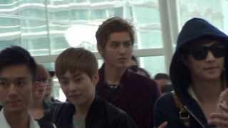 [Fancam] 131123 EXO @ Hong Kong Airport