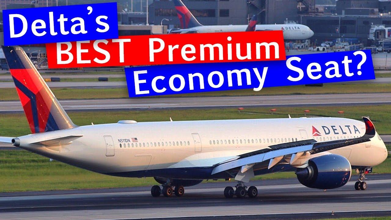 Delta Air Lines A350 Premium Select