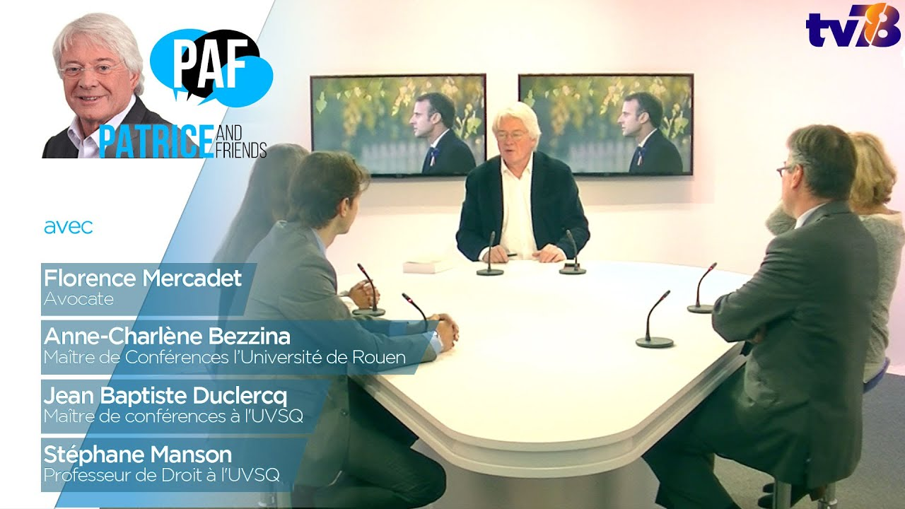 PAF – Patrice and Friends – Emission du 9 novembre 2018
