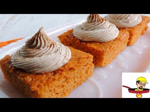 Pumpkin Pie Angel Food Cake - Halloween