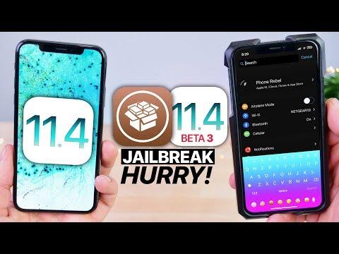 iOS 11.4 b3 Jailbreak Released! HURRY!