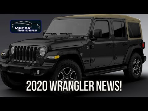 Here S Whats New For The 2020 Jeep Wrangler Youtube