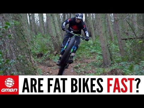 Are Fat Bikes Fast?