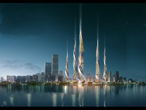 25 Breathtaking Skyscrapers Designs for Megatall Building in China