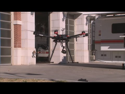 VIDEO: Mesa Fire & Medical testing drones