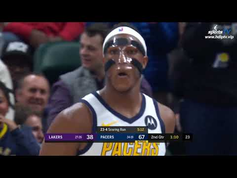 Los Angeles Lakers vs Indiana Pacers NBA 2018-19 Highlights 1080P (2019-2-5)