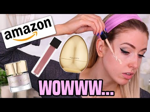 """""""LUXURY"""" AMAZON MAKEUP??    Full Face TESTED (& Wear Test!!)"""