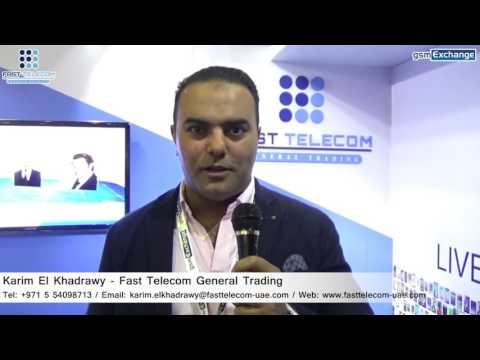 Fast Telecom General Trading   gsmExchange tradeZone @ GITEX 2016
