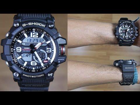 CASIO G-SHOCK MUDMASTER GG-1000-1A TWIN SENSOR - UNBOXING - YouTube cdec55e65ed