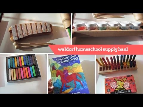 HAUL WALDORF HOMESCHOOL SUPPLIES | ART SUPPLIES | daily m.e. 045