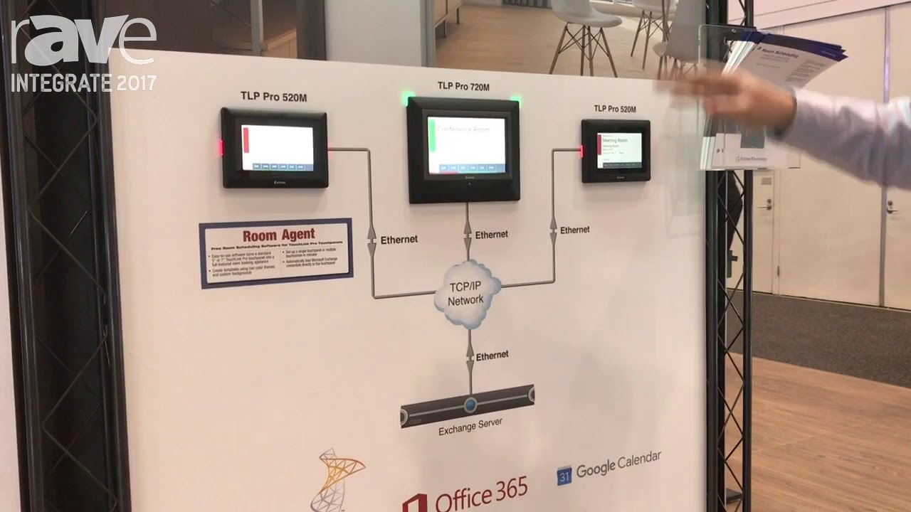 Integrate 2017: Extron Features Its Room Agent Room Scheduling ...