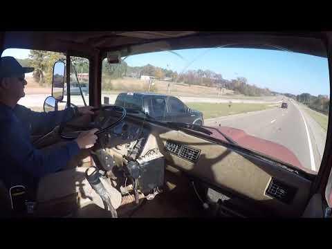 Ford L8000 dump truck hauling a load, 1994 model with 8.3 Cummins #ford #cummins