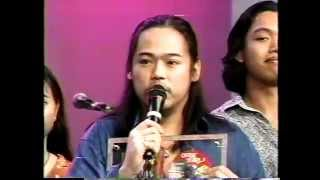 Orient Pearl Gold Record Awarding  GMA Supershow GMA 7 1995