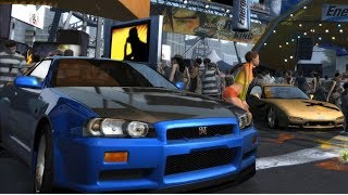 Nissan Skyline R34 GT-R in 16 Different Arcade Racing Games [PC] (NFS, Juiced, Grid & More)