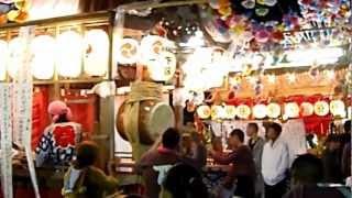 千葉県南房総市 和田中三原の祭り 平成24年10月7日(日)