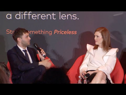 Xavier Dolan, Julianne Moore & Werner Herzog: Power of cinema conversation inCannes - Mastercard