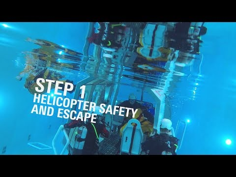 BOSIET safety training: Keeping your head above water