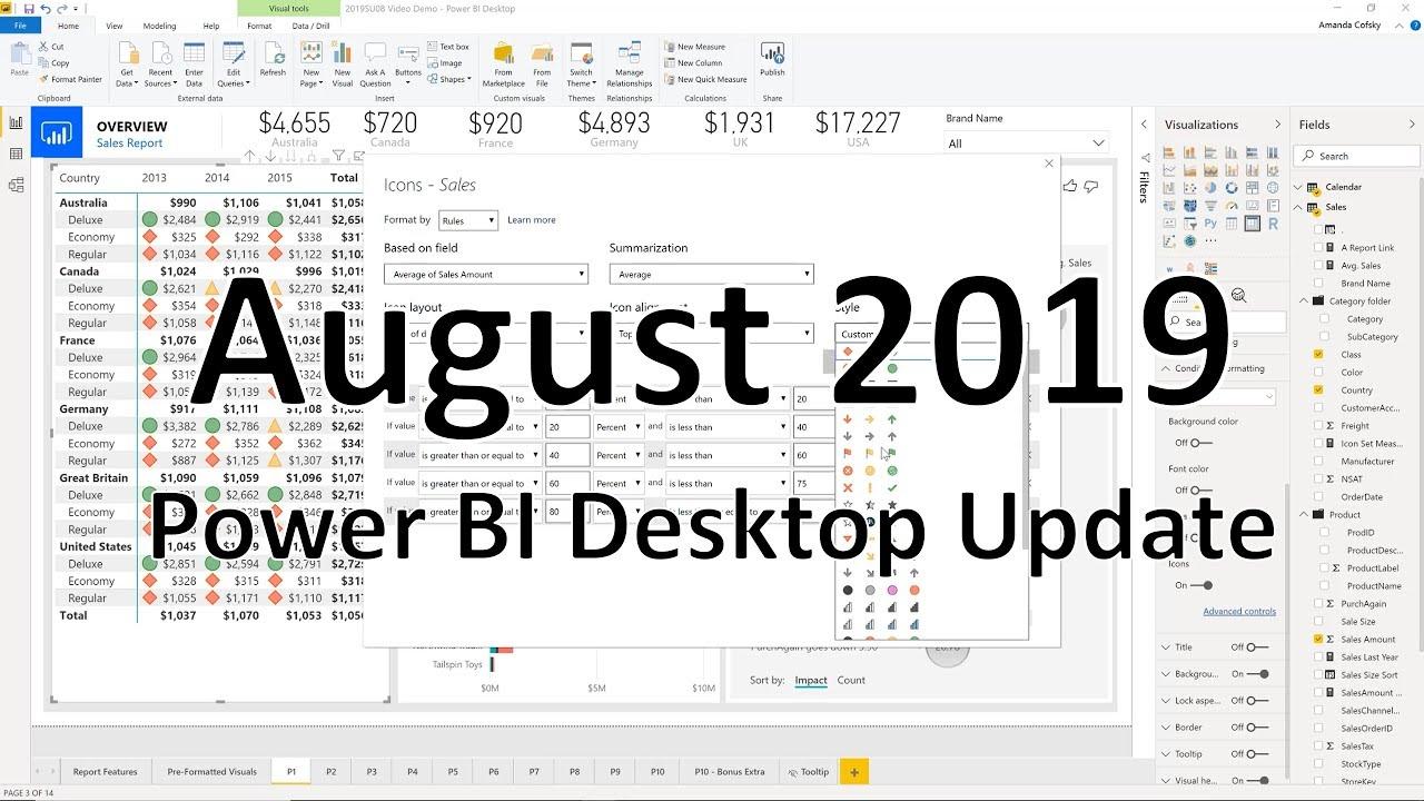 What's new in the latest Power BI Desktop update? - Power BI