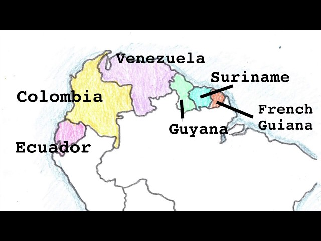America Geography Song, South America Part 1