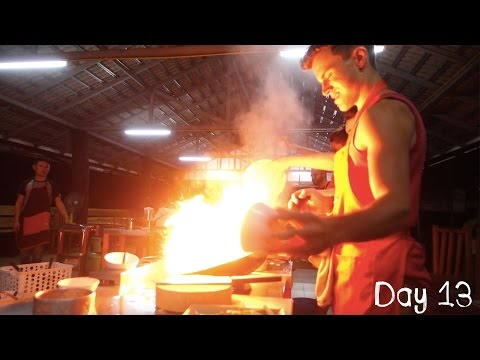 BURNING DOWN THE KITCHEN (THAI COOKING SCHOOL) | DAY 13