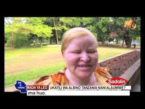 MIMI NA TANZANIA - UKATILI WA ALBINO TANZANIA NANI ALAUMIWE