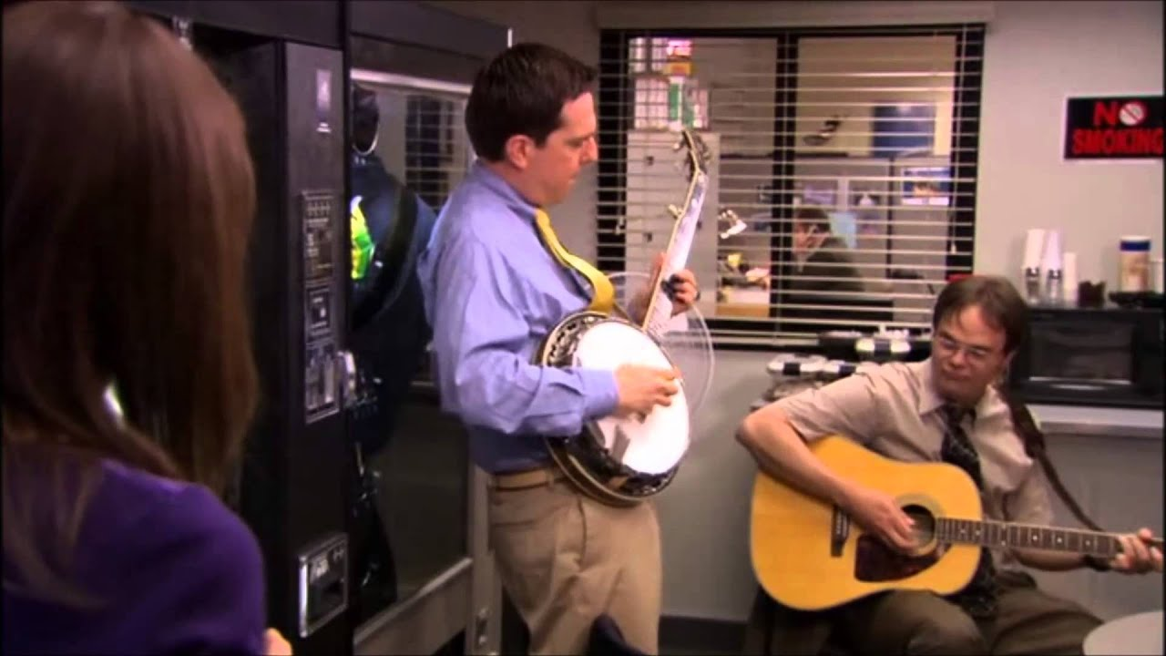 My favorite Dwight and Andy moment from the Office, starts ...