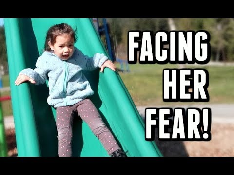CONQUERING HER FEAR! -  ItsJudysLife Vlogs