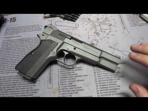 MK3firearms Heavily Customized Browning Hi-Power