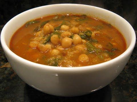 Как сварить суп из нута с мясом