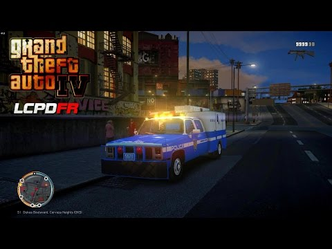 GRAND THEFT AUTO IV - LCPDFR - ESU ARREST WARRANTS+ (NYPD ES