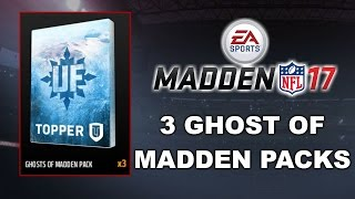 3 GHOST OF MADDEN PACKS!! DEION SANDERS & LINE UP UPDATE!!