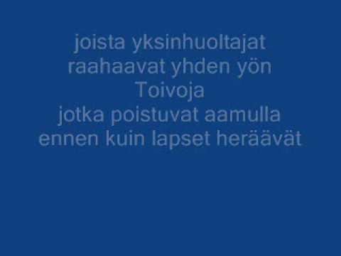 Kotiteollisuus - Minä olen (lyrics)