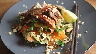 Thai Beef Salad Recipe / Healthy Recipe