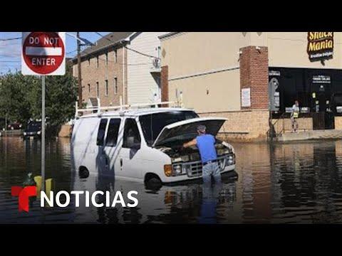 Mortales inundaciones paralizan Nueva York y Nueva Jersey | Noticias Telemundo